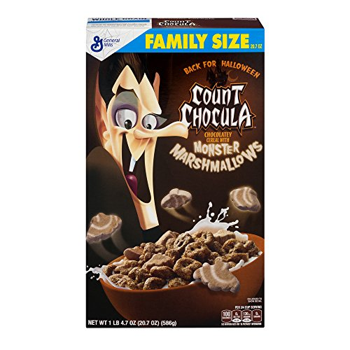 General Mills Count Chocula 20.7oz (Pack of 2) (General Mills Halloween Cereal 2017)