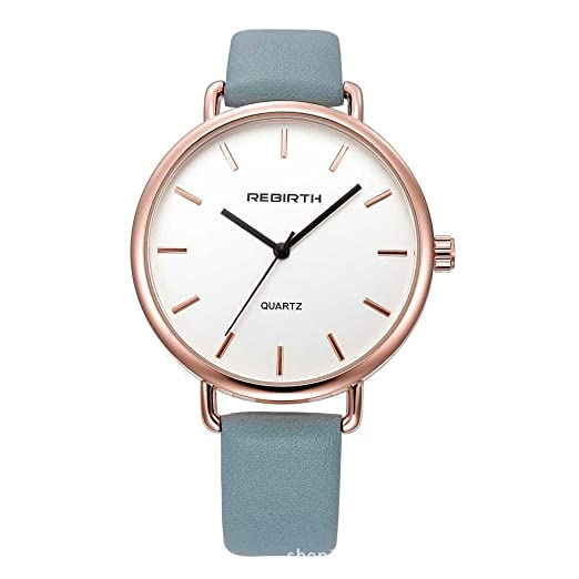 Womens Quartz Watch Fashion Analog PU Leather Strap Women Dress Watches Stainless Steel Casual Lady Wristwatch