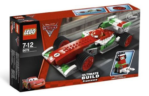 Exclusive Limited Edition Set - LEGO Disney Cars Exclusive Limited Edition Set #8678 Ultimate Build Francesco
