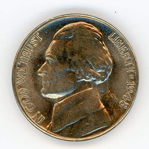 1948 D Jefferson Nickel MS-65