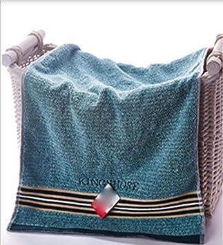 GYX toallas algodón mayor engrosamiento manopla suave absorbente limpiador toalla de deporte toalla de cuerpo verde: Amazon.es: Hogar