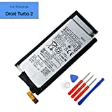 New 3550mAh Replacement Battery FB55 Compatible with Motorola Droid Turbo 2 XT1581 XT1585 Internal Battery + Tools