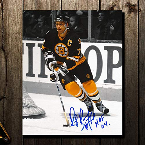 Ray Bourque Autographed Photograph - HOF SPOTLIGHT 8x10 - Autographed NHL Photos
