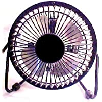 MASSEY, NOW PMX, 4 inch Personal Fan, Black