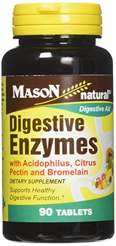 DIGESTIVE ENZYMES TABS MASON 90 For Sale