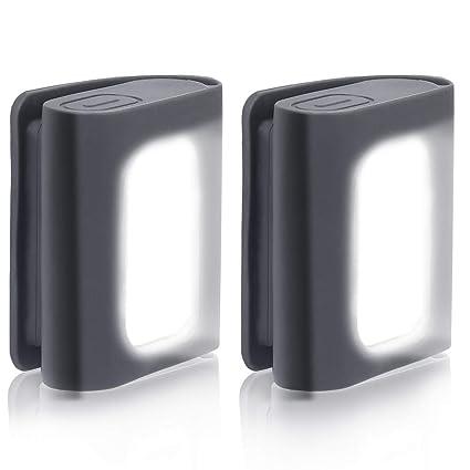 Amazon.com: Lote de 2 luces LED de seguridad para correr ...