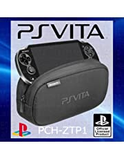 OFFICIAL Sony Playstation Vita PS Soft Travel Pouch Carry Case WITH STORAGE Bag FOR DUAL COMPARTMENTS PERIPHERALS MEMORY CARD SLOTS-PCH-Packed OEM ZTP1 [] [Import Anglais]