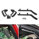 Areyourshop Upgraded Black Front & Rear Grab Bar Handles 2007-2017 Jeep Wrangler JK