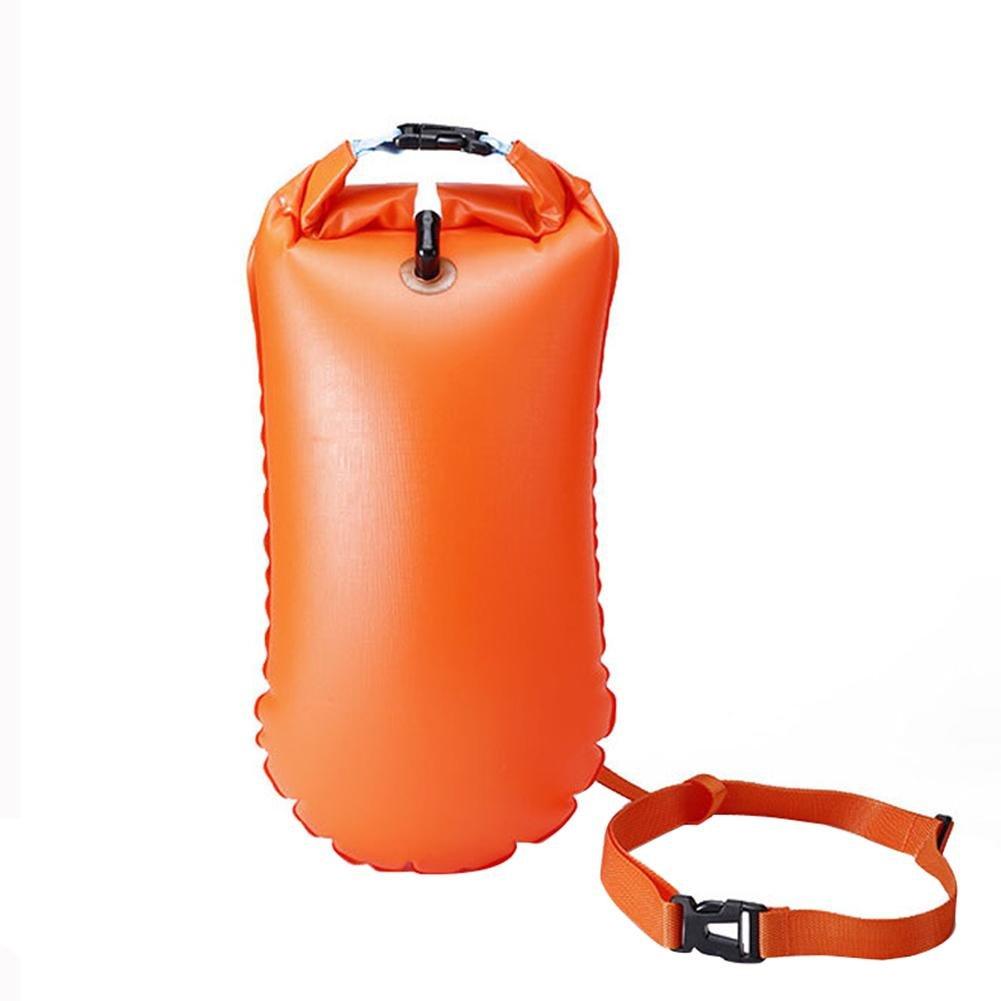 Nuoto Boa per Open Water triathleten e galleggiante Visible Float per allenamento e Competizione in PVC 25*50/cm