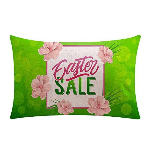 HYIRI Happy Easter Sofa Bed Home Decor Fun Egg Festival Pillow Case Cushion Cover