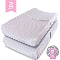 Ziggy Baby Changing Pad Cover, Cradle Bassinet Sheets Fitted Jersey Cotton, P...