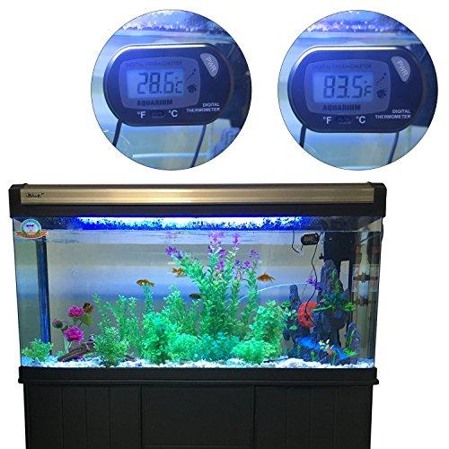 MAGIOVE® Digital Aquarium Thermometer for Hydroponics Aquarium Fish Tank Vivarium Reptile Terrarium by MAGIOVE (Image #2)