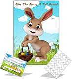 Easter Family Game - GIVE THE BUNNY A TAIL - 35 player - Kids / School / Easter Party