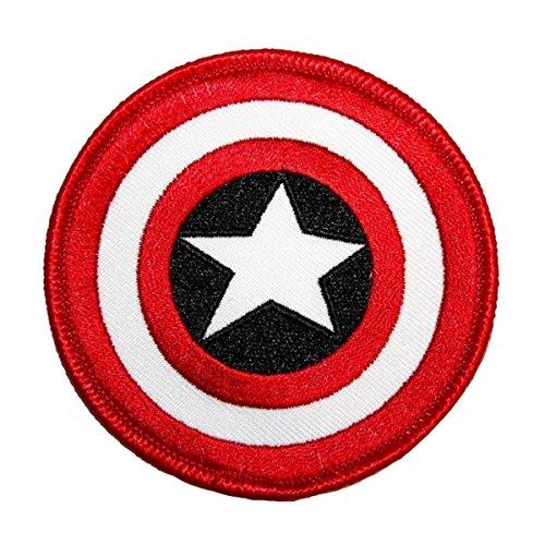 - Application Marvel Comics Retro Captain America Shield Patch