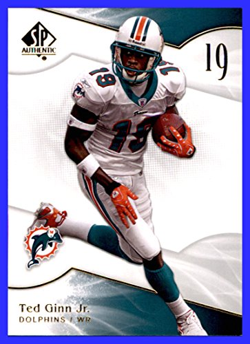 - 2009 SP Authentic #20 Ted Ginn MIAMI DOLPHINS OHIO STATE BUCKEYES