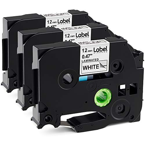 3 Pack Replace P Touch Label Tape Compatible Brother, used for sale  Delivered anywhere in USA