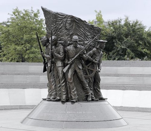 - Photo: African American Civil War Memorial,Washington,DC,2006,Carol Highsmith