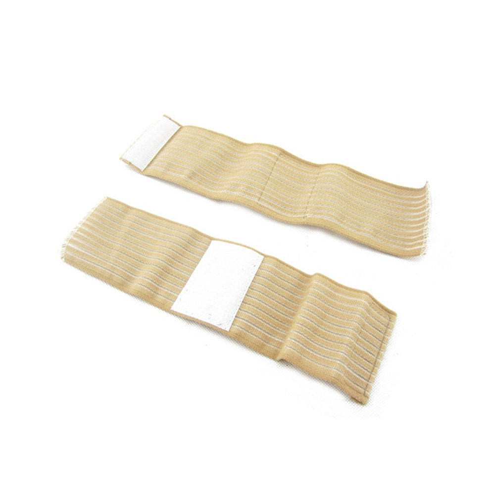 1 Pair Wrist Protector Elastic Compression Bandage Wrap Band Gym Sports Support Sprain Strain