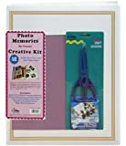 Pioneer 11 3/4 Inch by 14 Inch Postbound Jumbo 100 Page Memory Book Kit, White
