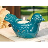 Small Ceramic Bird Tea Light Holder