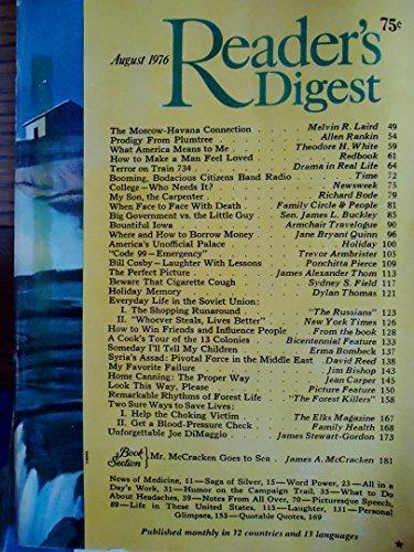 Buy readers digest august 1976