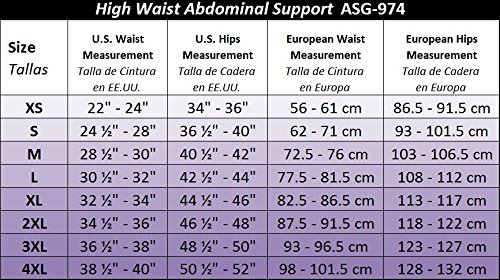 Gabrialla Abdominal Waist Support Body Shaping Slimming Girdle (reduces up to two sizes) Small by GABRIALLA (Image #6)