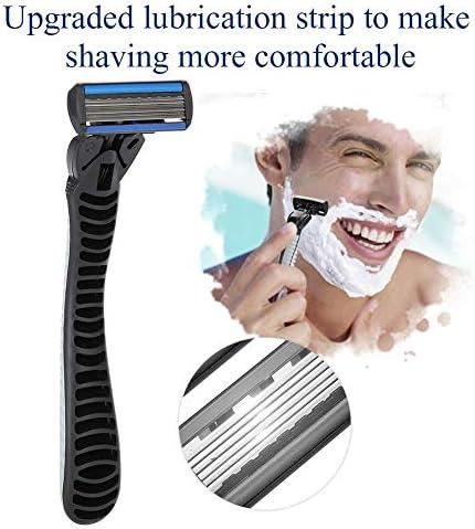 Maquinilla de afeitar, mango de maquinilla de afeitar + 6 piezas ...