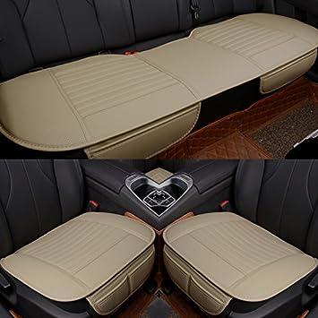 EDEALYN Universal Car Interior Accessories PU Leatherette Seat ...
