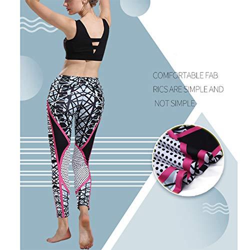 Ruikey Pantalones De Yoga Elásticos Impresión Leggings Yoga Pantalon Mallas Deportivas Mujer Leggins Yoga Pantalon Pantalones Elásticos De Yoga Mujer para ...