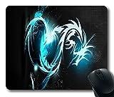 Blue Dragon Custom Standard Oblong Rectangle Gaming Mousepad