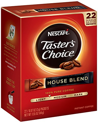 Amazon.com : Nescafe Taster's Choice 100% Colombian Instant Coffee, 20 Count Single Serve Sticks, (Pack of 8) : Grocery & Gourmet Food