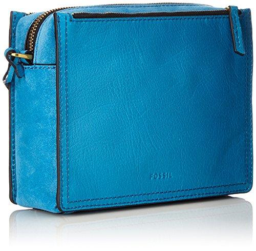 nbsp; Damentasche Sacs Crossbody Fossil Campbell Bleu cerulean Bandoulière HO5wBqd