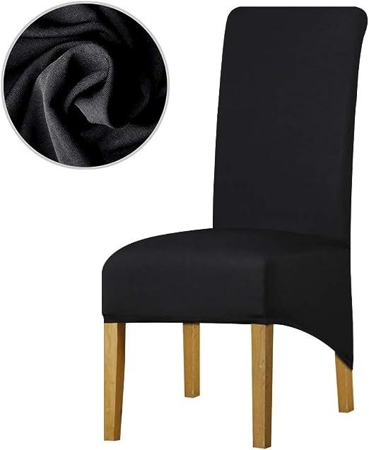 Leorate - Funda elástica para silla de comedor, hotel, paquete de ...