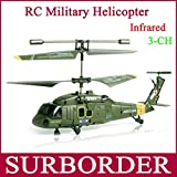 Mini Remote Control RC Syma S102G RTF 3CH Infrared Radio Controlled Apache Military Gyro RC Electric Helicopter Toy