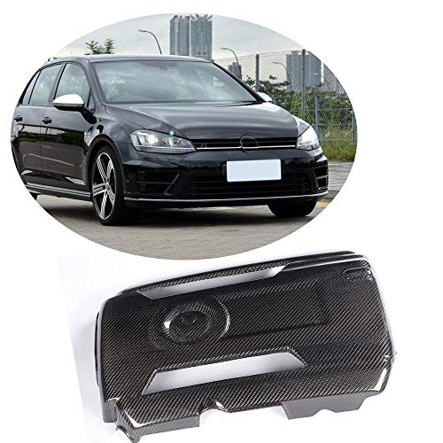 MCARCAR KIT Fits Volkswagen VW GOLF VII 7 GTI R 2014 2015 2016 Car Tuning Carbon Fiber Hood Engine Cover