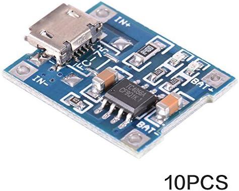 XCSOURCE® 10 piezas Tablero del Módulo Cargador de la energía Mini USB Micro USB 5V 1A Batería Litio TP4056 TE585