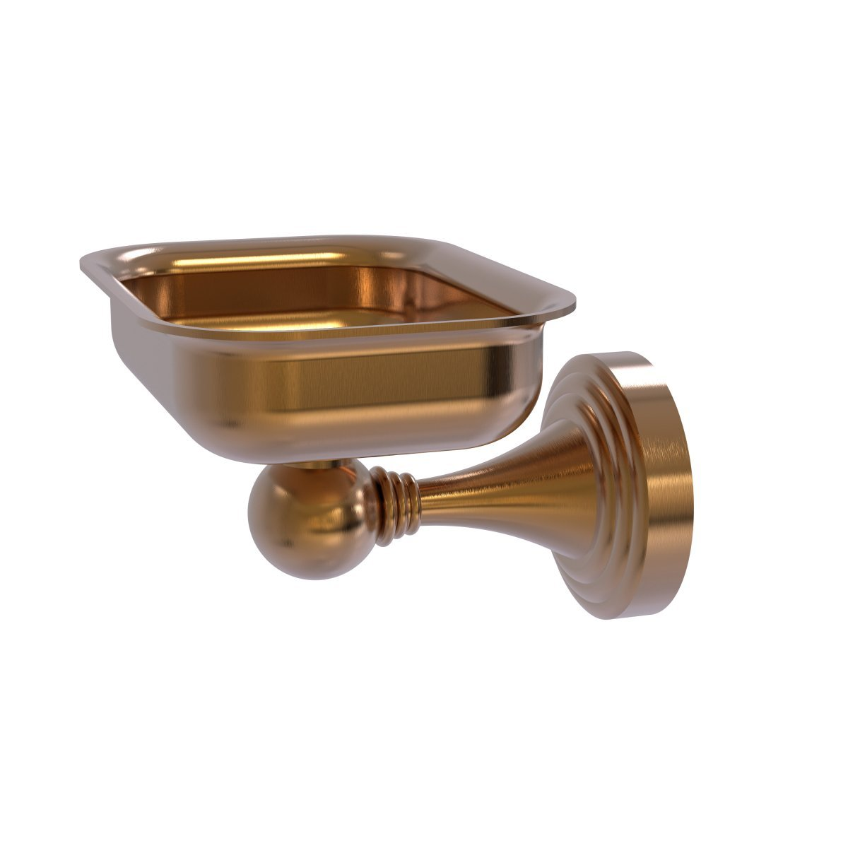 Allied Brass SG-32-Bbr Sag Harbor Collection Wall Mounted Soap Dish