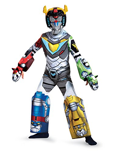 Voltron Deluxe Costume, Multicolor, Large (10-12) ()
