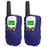 Walkie Talkies for Kids Boys, Ouwen Fun Best Christmas Toys for 3-12 Year Old Boys Christma Best Gifts for 3-12 Year Old Girls Boys Outdoor Outside Games Sporting Toys for Boys Dark Blue OWUSDD08