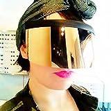 New sunglasses Large mask Sunscreen Anti-peeping
