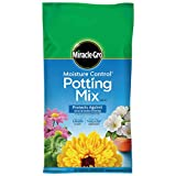 Miracle-Gro Moisture Control Potting Mix, 16-Quart (0.53-Cubic Feet)
