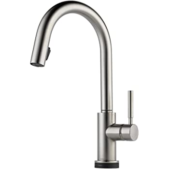 Brizo 63020lf Ss Solna Kitchen Faucet With Pullout Spray