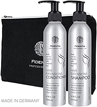 Shampooing extensions cheveux