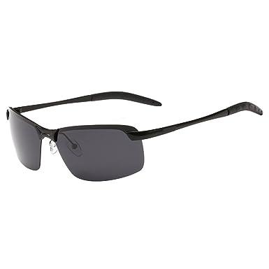 Sanwood - Lunettes de soleil - Homme noir noir Taille unique - noir - Taille Unique vVm5CTGR