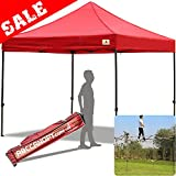 (18+Colors)ABCCANOPY Kingkong-series 10 X 10-feet Commercial Instant Canopy Kit Ez Pop up Tent ,Bonus Carrying Bag (Red) Review