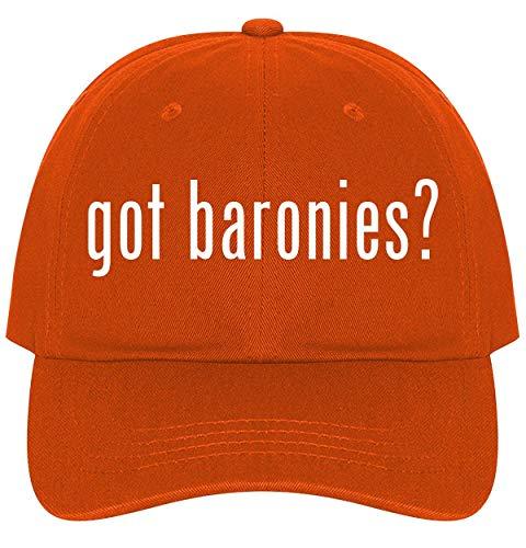 - The Town Butler got Baronies? - A Nice Comfortable Adjustable Dad Hat Cap, Orange