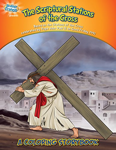 Coloring Book: The Scriptural Stations of the Cross (Coloring Storybooks) - Station Coloring Book