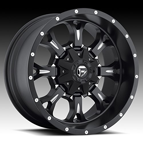 - Fuel D517 Krank Matte Black Milled 18x9 5x4.5 / 5x5 1mm (D51718902650)
