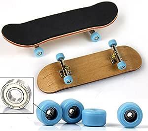 Complete en Fingerboard Finger Skate Board Grit Box Foam Tape Maple xiaw