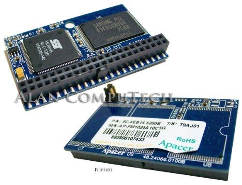 .Apacer. 1GB 72.8C4BB.A0k ATA Flash Drive 8C-4BB24-5200B 44-Pin 8C.4BB24.5200B Memory